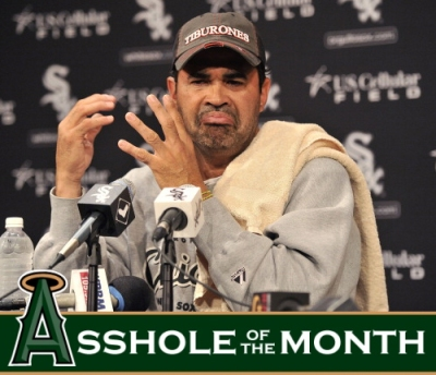 Ozzie Guillen, you are an asshole.