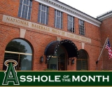 Assholes of the Month: National Baseball Hall of Fame