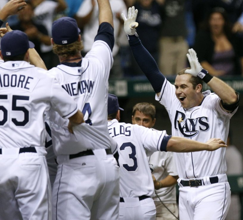 The Tampa Bay Rays will complete their journey from