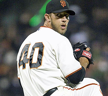 Bumgarner pitches a one-hitter as Giants continue to dominate.