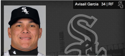 Garcia looks good in White Sox pinstripes!